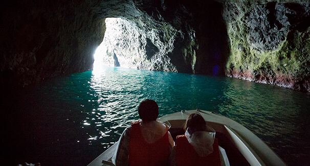 青の洞窟探検クルーズ